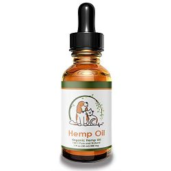 Valerio Pet Hemp Oil Dog Cat, Anxiety Relief, Arthritis Pain, Hip, Joint, Separation Anxiety, Stress, Seizures, Anti-Inflammatory, USDA Certified Organic