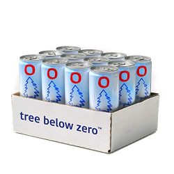 Tree Below Zero Sparkling Juice Flavored Hemp Infused Soda, Full Case of 12 12oz cans (Cranberry Ginger)