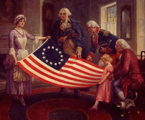 betsyrossflag  82971.1498183211.386 300x247 - First American Flag was made of Hemp